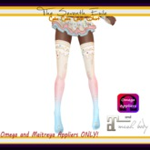 T7E: Cake Cake Cake! Thigh High Socks - Birthday - Omega & Maitreya Appliers