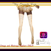 T7E: Cake Cake Cake! Thigh High Socks - Cream - Omega & Maitreya Appliers