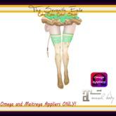 T7E: Cake Cake Cake! Thigh High Socks - Spearmint - Omega & Maitreya Appliers