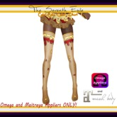 T7E: Cake Cake Cake! Thigh High Socks - Pizza - Omega & Maitreya Appliers
