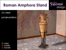 Roman Amphora Stand Sales Box