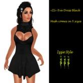 <IS> Eva Dress Black