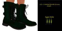 <IS> Combat Boots Green
