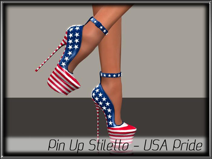- MPP - Pin Up Stiletto - USA Pride