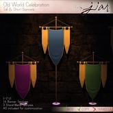 Jian :: Old World Celebration Banners