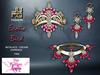.:JUMO:. Exotic Bird Jewelry Pink
