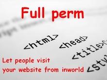 Full perm Website visitor script