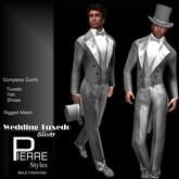 Tuxedo Long Tail Silver - Pierre Styles