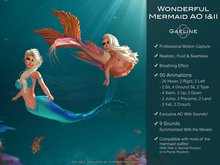 Gaeline Animations - Wonderful Mermaid I&II AO : express your charm and sensuality - Fantasy