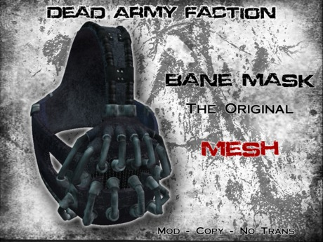 [Dead Army Faction] Bane Mask (Exclusive) - Mesh