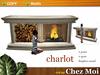 Fireplace charlot