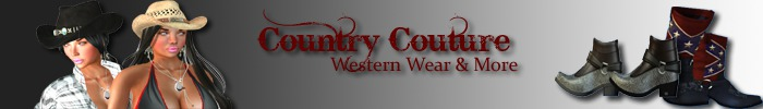 Country couture banner