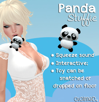 [Claimed] Mouth Toy - Panda Stuffie