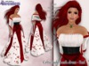 Stressless - Celtic Lady mesh dress - Red