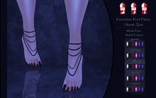 Suicide Gurls - Cerentine Feet Claws - Solid Colors