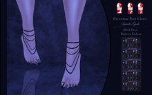 Suicide Gurls - Cerentine Feet Claws - Pattern Colors