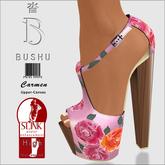 Bushu Carmen Roses Pink