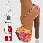 Bushu Carmen Roses Orange