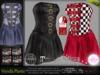 Vonda Strapped Dress* Rigged Mesh (HUD Driven)  *DreamLife - FashionNatic*