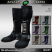 AB Strathcona Boots with Color HUD
