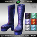 AB Curt Wild Boots with Color HUD