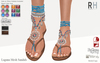 !Rebel Hope - Laguna Mesh Sandals Blue