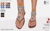 !Rebel Hope - Laguna Mesh Sandals Sunset