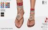 !Rebel Hope - Laguna Mesh Sandals Red
