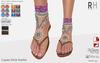 !Rebel Hope - Laguna Mesh Sandals Pink
