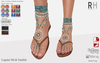 !Rebel Hope - Laguna Mesh Sandals Aqua