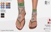 !Rebel Hope - Laguna Mesh Sandals Green
