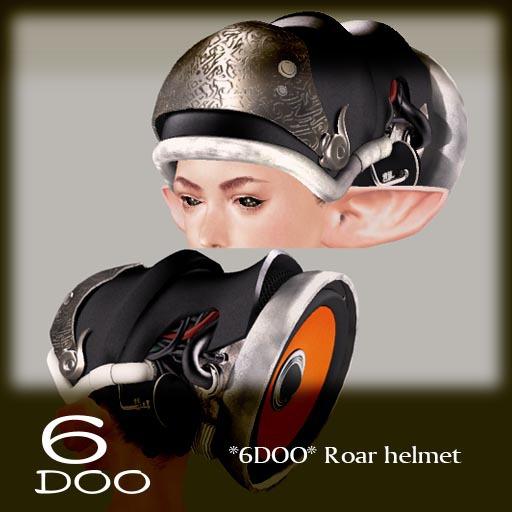 *6DOO* Roar helmet