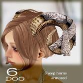 *6DOO* Sheep horns  armored