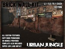 MESH BRICKWALL KIT + MANY EXTRAS - URBAN JUNGLE