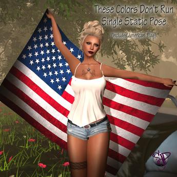 [SSP] American Flag Hold Pose & Prop