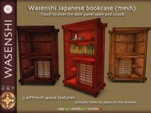 Wasenshi Japanese bookcase (mesh)