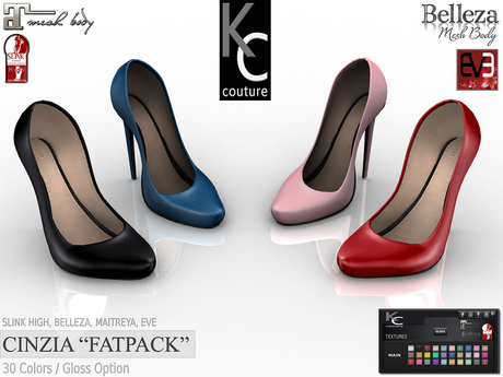 -KC- CINZIA for Slink High, Maitreya, Belleza & EVE