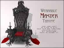 Boudoir- Wearable Master Throne