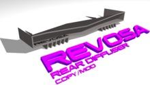 REV Rear Diffuser