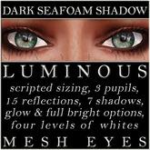 Mayfly - Luminous - Mesh Eyes (Dark Seafoam Shadow)