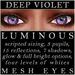 Mayfly   luminous   mesh eyes %28deep violet%29