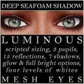 Mayfly - Luminous - Mesh Eyes (Deep Seafoam Shadow)