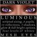 Mayfly   luminous   mesh eyes %28dark violet%29