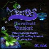 Meeroos Florofruit Basket V3.0