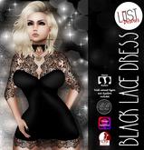 Lust Desires :: Black Lace Dress