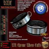 KDC/ER Chrome Elbow Cuffs