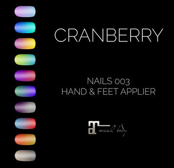 CRANBERRY - NAILS 003