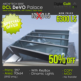 *** DCL DEVO Palace - Ideal as Megastore, Art Gallery, Expo