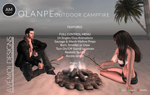 .:: AM ::. Olanpe Outdoor Campfire + 14 animations for him, her and duo + scripted