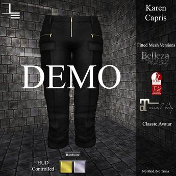 DE Designs - Karen Capri's - DEMO